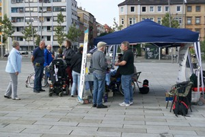 AGB Informationsstand bei Aktionstag